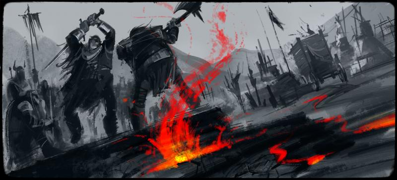 Keyframe research for an undisclosed live action/CG hybrid film
